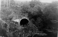 Entrée du souterrain de Bernistap (1920)
