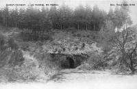 L'entrée du souterrain de Bernistap, vers 1913