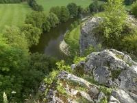 Vue de l'Ourthe à Petit Bomal